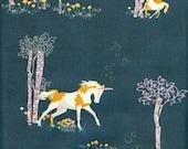 Art Gallery Fabrics Fantasia Unicorn Fable Balsamtree - Half Yard