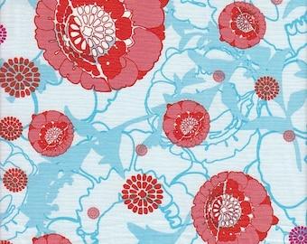 Anthology Fabrics Mod Charm Funky Floral - Half Yard