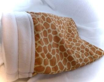 Giraffe Little Critter Plush Snuggle Sleep Sack Bed for Your Favorite Little Pet