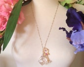 Sailor Moon Silver Crystal necklace, with or without Time Key
