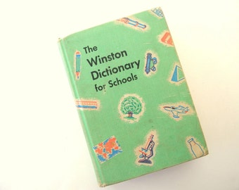 The Winston Dictionary for Schools Vintage 1960 Edition