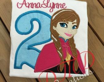 Anna Birthday shirt