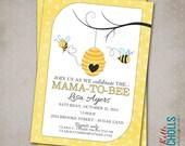 Bumble Bee Baby Shower Invitation CUSTOM FOR movelvet49