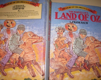 1982 The Marvelous Land of Oz by L Frank Baum Treasury of Children's Classics