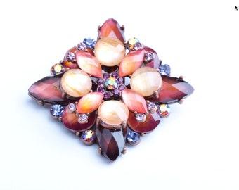 Crystal Brooch Pin, 1 ea G346.40