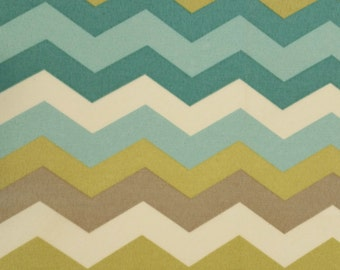 Home Decor Fabric Panama Wave Pebble Waverly Cottage 1/2 Yd Fabric Screen Print Indoor Outdoor Excellent Fabric for Creative Genius Projects