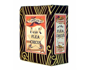 At The Flea Circus  A Miniature Pop-Up Book