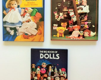 3 books.  Doll making and doll dressing