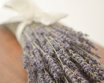 Dried English Lavender Bunch, English Lavender, wedding decor, do-it-yourself wedding, lavender