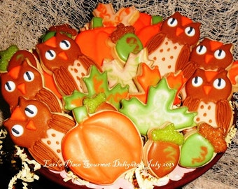Fall Cookies - Fall Cookie Mix - 18 Cookies