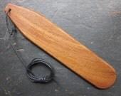 Natural Wood Bullroarer - English Elm - for Love.