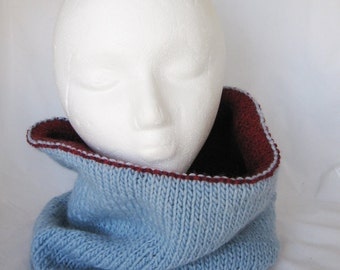 Double sided cozy cowl