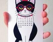 2016 Miniature Tuxedo Cats Calendar, Desk Calendar, Wall Calendar