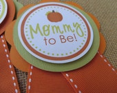 Pumpkin Baby Shower Decorations, Baby Shower Decorations, Baby Shower Décor, Pumpkin Baby Shower Mom To Be PIN, You Choose The Colors