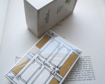 Vintage Box * Out Of The Closet *  Vintage Fitz & Floyd Ceramic Box * Fun Unisex Gift Box