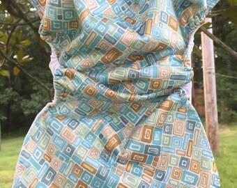 MamaBear BabyWear Waterproof Diaper Cover / Swim Diaper, Wrap One Size Fits All - Mosaics