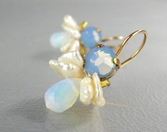 Swarovski Crystal Earrings, Gemstone earrings, Dangle Earrings, Drop Earrings, Gemstone Jewelry, Gift For Her, Colorful Earrings