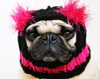 Custom Dog Hat - The Original Pug Hat - Dog Hats - Pug Hats - French Bulldog Hat - Dog Beanie
