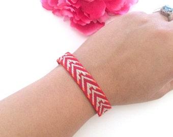 friendship bracelet - bohemian woven bracelet - boho style bracelet - best friends bracelet - gift for her - girls gift - best friend gift