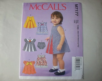 New McCall's  Baby Clothes Pattern, M7177 (Free US Shipping)
