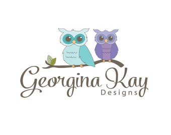 Custom Logo Design, Owl Logo, Logo Design