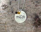 Baseball Mom Necklace, Baseball Mom Jewelry, Team Mom Gift Team Spirit Jewelry Sports Necklace