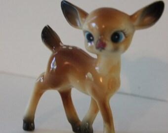 Smaller Vintage Doe  | Kawaii Doe  | Adorable Baby Deer  | Vintage Deer