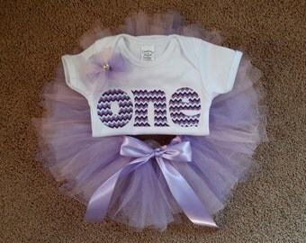 Girl's First Birthday Outfit