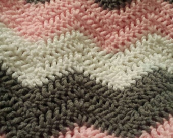 Ceveron Blanket crochet Made to order