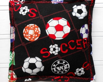 Microwavable Heating Pad and Ice Packs, Keepin' Cozy Willy Pad; Warm Compress and Cold Compress, Multiple Sizes - Soccer Star