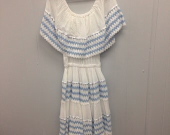 1980s Mexican Wedding Dress