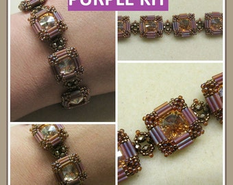 KIT Side Show Bracelet (Purple) Jewelry Making
