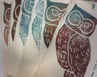 Ex Libris / Bookplates. Owl