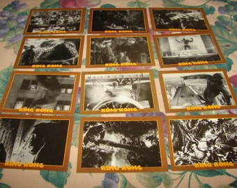 KIng Kong Trading Cards 1993 Eclipse 12 Cards