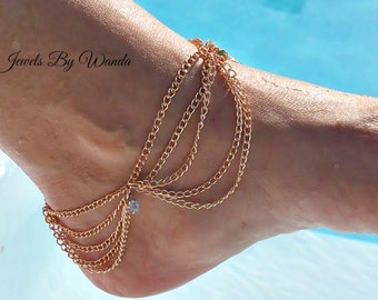 Egyptian Slave Style Anklet - Clearance Sale, Reduced Price. Half Price Sale