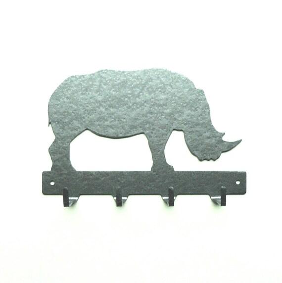 Rhino Metal Art Key Rack - Free USA Shipping