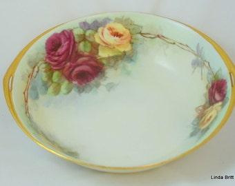 Beautiful Hand-painted Rosenthal Donatello Bowl