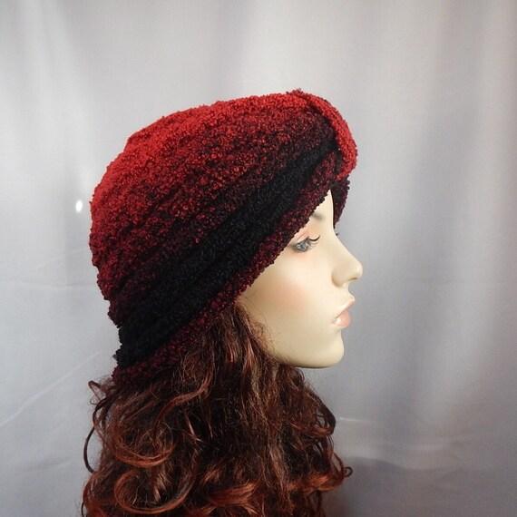 Knitted turban hat, lightweight hat, lightweight turban hat