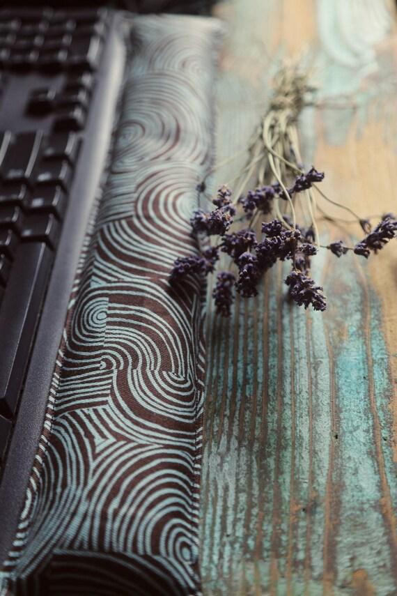Organic Keyboard ergonomic Wrist Rest Support Pillow set with Lavender