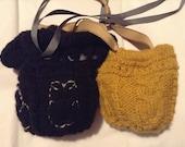 Reserved for 2511Denise - Custom Owl Wrist Bags