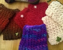 Fun And Easy To Make Comfy Cozy Fingerless Gloves Hand Warmers PATTERN