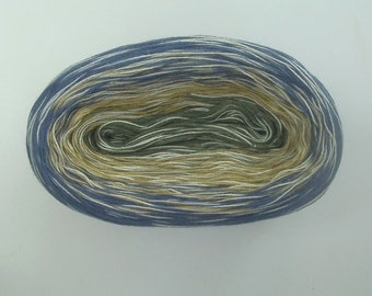 STARRY MEDLEY  Color Changing Cotton yarn  240 yards/50 gr  Fingering Weight