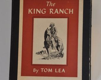 1957 Hardbound The King Rancy by Tom Lea, III