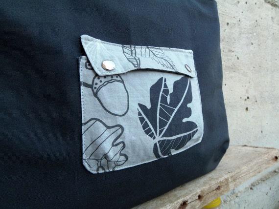 Pocket on a tote bag