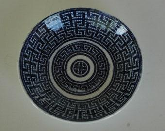 "Rare Antique 1800s Societe Ceramique Maestricht ""CRETA"" Saucer Plate"