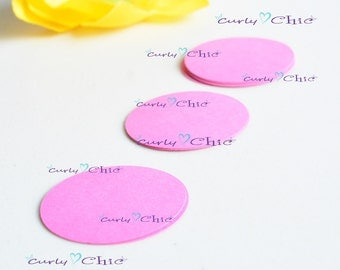 "240 Oval Cardstock Die cut Size 1.75"" -Oval Circles tags -Paper Oval labels -Cardstock Oval die cuts"