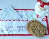 Dear Santa Mug Rug PATTERN