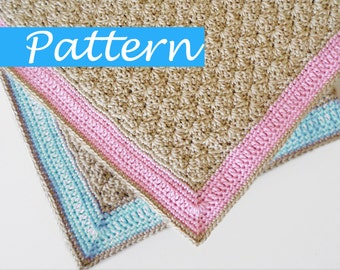 PDF Pattern for Charlie's Baby Blanket