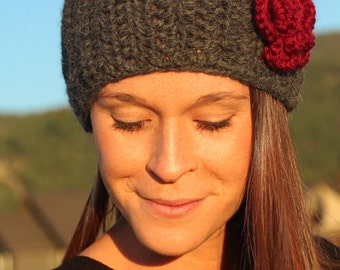 Alpaca Headband with Adjustable Fit