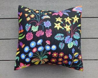 "JOSEF FRANK Genuine authentic ""Under Ekvatorn"" 15"" (38cm) textile silkscreened fabric Swedish throw pillow interior Crabby Chris"